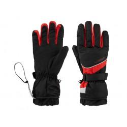 Lyžařské rukavice Loap ROBERT, černo červená G20V