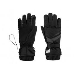 Lyžařské rukavice Loap ROBERT, černo šedá T71V