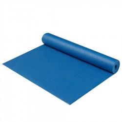 Podložka na jógu/cvičení YATE Yoga Mat + taška, tmavě modrá