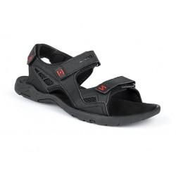 Pánské sandály Loap REUL, černo červená V11G