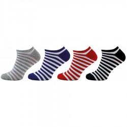 Dámské kotníkové ponožky 1145 4páry, mix barev