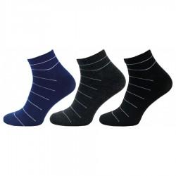 Pánské kotníkové ponožky 1122, 3 páry v balení