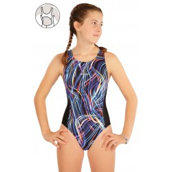 Dívčí jednodílné plavky LITEX 63632