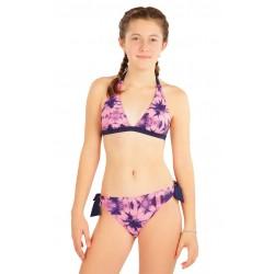 Dívčí dvoudílné plavky Litex 63595 + 63596