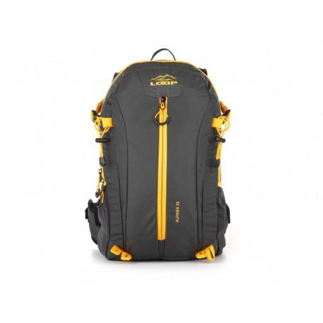 Batoh Loap ALPINEX 25, šedo žlutá T15C