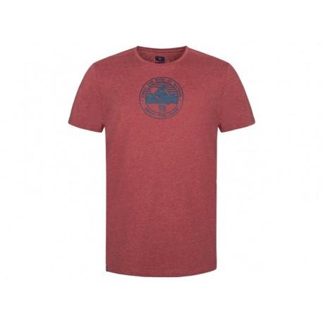 Pánské triko Loap BEDE, červená melír G37XG