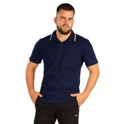 Pánské polo triko LITEX 60387, tmavě modré