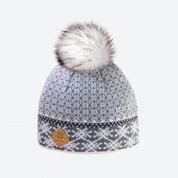 KAMA dámská pletená MERINO čepice A119, bílá 100