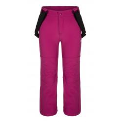Loap LONNY dětské softshellové kalhoty, růžová H20H