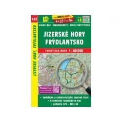 Turistická mapa č. 402 Jizerské hory, Frýdlantsko 1:40 000