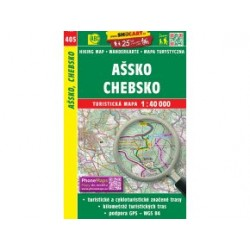 Turistická mapa č. 405 Ašsko, Chebsko 1:40 000