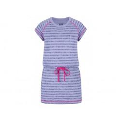 Dívčí šaty Loap BACY, fialová K88MD