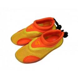 Dětské neoprenové boty do vody ALBA, žluto oranžováá