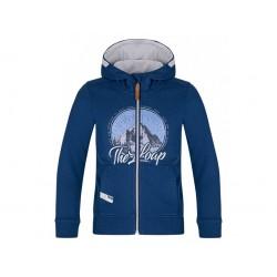 Chlapecká mikina Loap DICAL, modrá L39L
