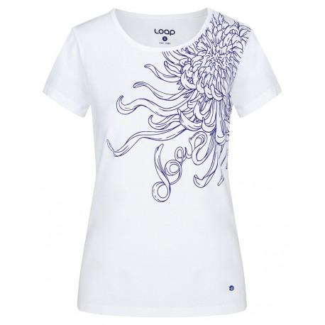 Dámské triko Loap ABBLINA, bílá A14K