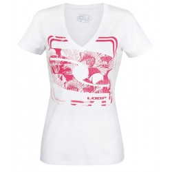 Dámské tričko Loap EVUCHKA, bílá