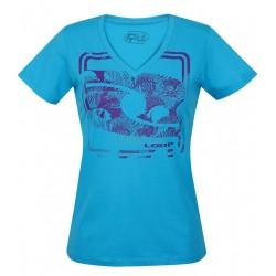 Dámské tričko Loap EVUCHKA, modrá